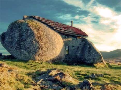 Дом Камень