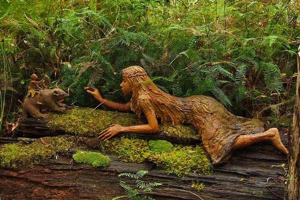 фото деревянных скульптур