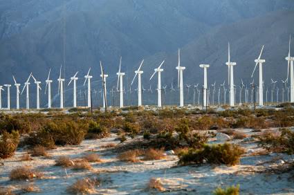 Ветряная ферма в Палм Спрингс