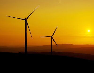 Большой ветряной генератор