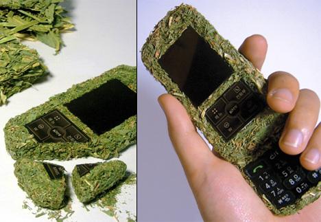 Зеленый телефон