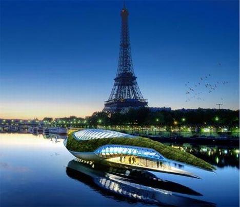 Амфибия в Париже