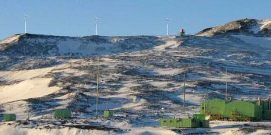 ветряная ферма на островах Росса