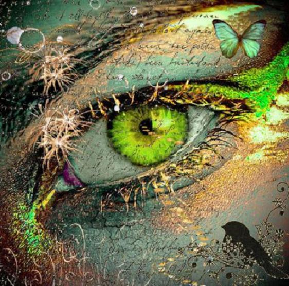 Волшебные зеленые глаза