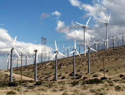 ветряки на горах