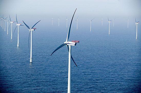 морская ветряная ферма