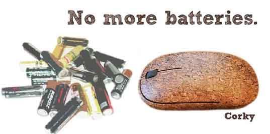 Мышь без батареек