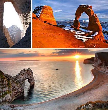Каменные арки мира