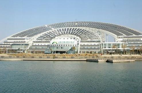здание на солнечной энергии