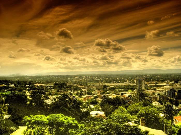 Самый чистый воздух в Зеленом городе