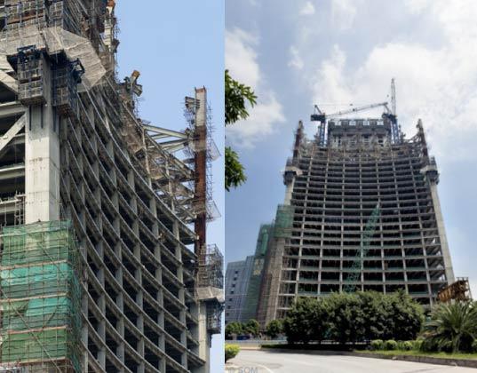 Самый экологичный небоскреб мира - застройка