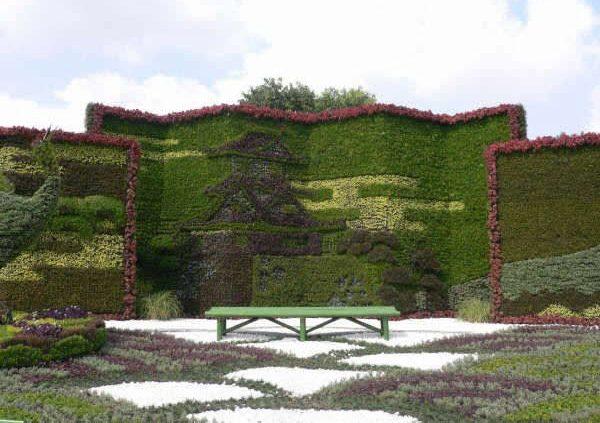 Японский сад картинка