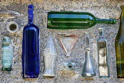 поделка из бутылок