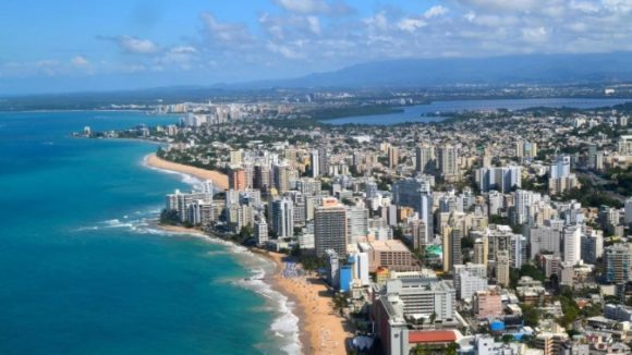Страна Пуэрто-Рико. Климат. Температуры. Осадки